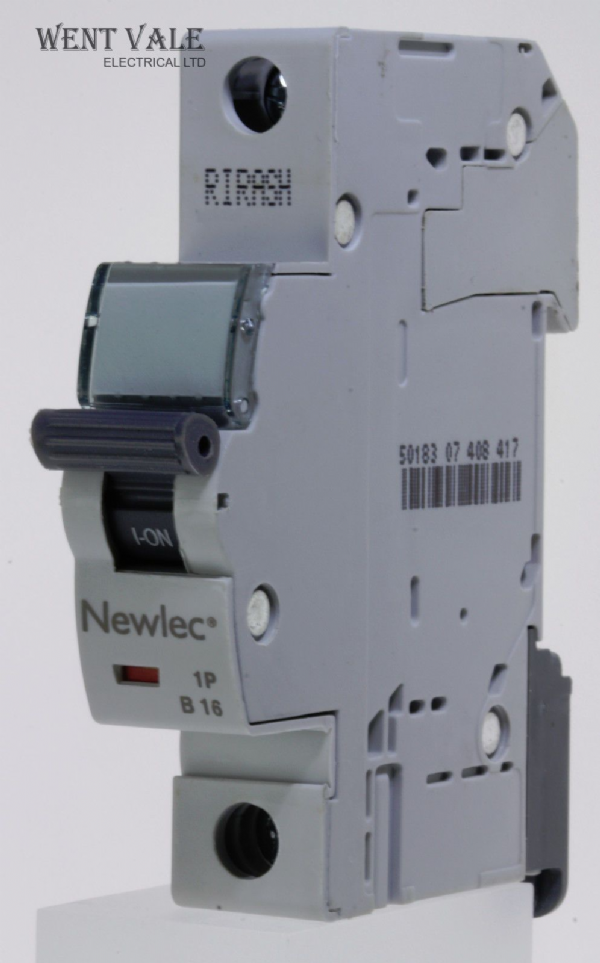 Newlec - NLMB116BA - 16a Type B Single Pole MCB Latest Model NEW